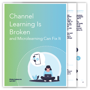 channel learning is broken whitepaper cover